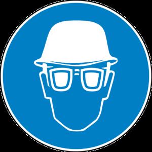 Schutzbrille alert